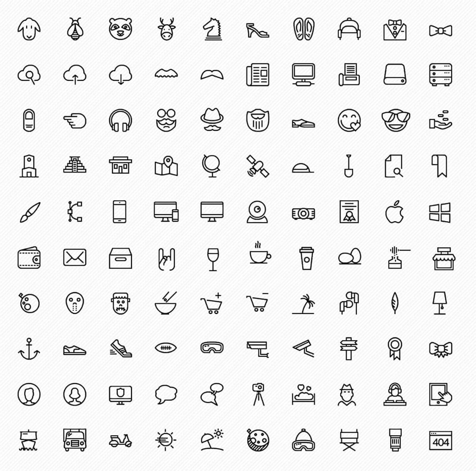 Free icons pack